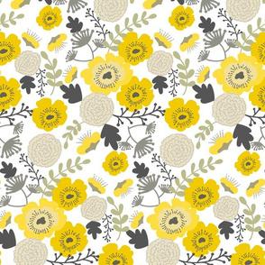 Poppy Field (yellow)