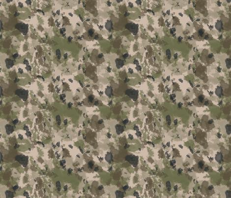 WWI Battlefield Trench Camo fabric by ricraynor on Spoonflower - custom fabric