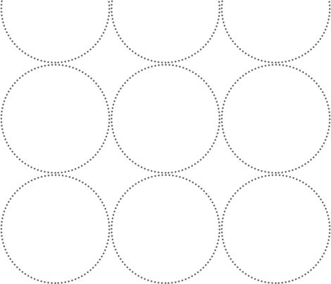 dotswhitegrey fabric by natitys on Spoonflower - custom fabric