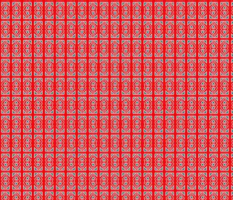 red_abstract fabric by mammajamma on Spoonflower - custom fabric