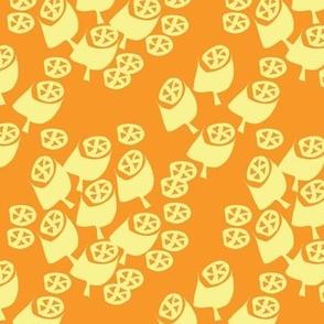 Gumnuts orange