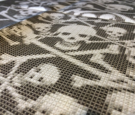 Skull & Cross stitches