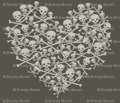Skull & Cross stitches