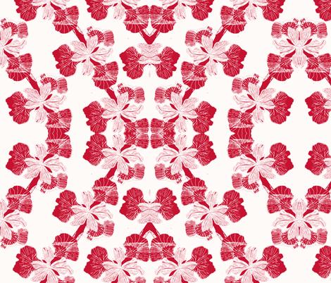 Iris Rings-ch-ed-ch fabric by kumate on Spoonflower - custom fabric