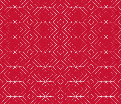 Arrow-red fabric by miamaria on Spoonflower - custom fabric