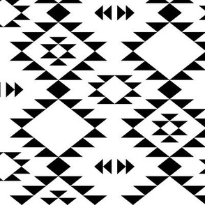 Navajo Black and White