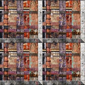 Urban Fragments Handwoven #1 - Ver.1                                              ver 1 - Ver 1