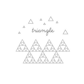 Triangle Embroidery Sampler