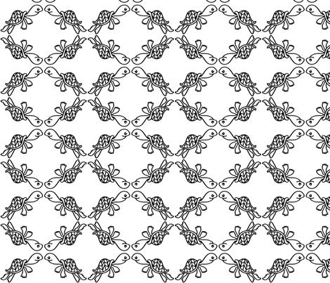 Turtle Trellis fabric by ellisalice on Spoonflower - custom fabric