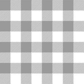Gingham Gray One