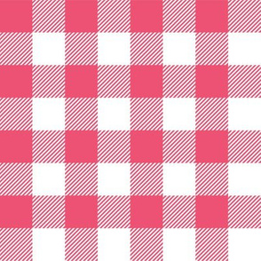 Gingham Pink One