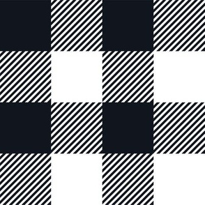 Gingham BLK Two
