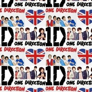 One Direction British Boy Band 1D