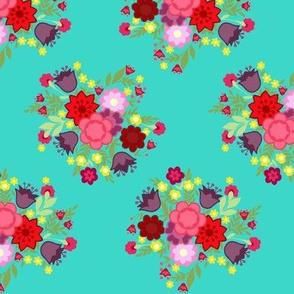 Medium Floral Pattern