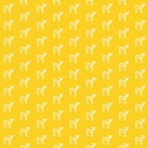 Dear Deer Sunflower Yellow