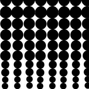 Black gradient dots