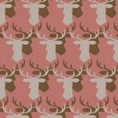 Oh Deer _ coral
