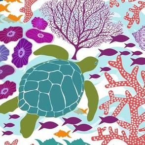 Bustling Reef