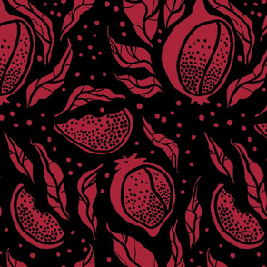 Pomegranate - color