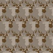 Oh Deer - gray