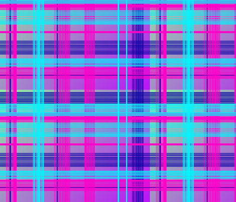 Plaid Purple fabric by charldia on Spoonflower - custom fabric