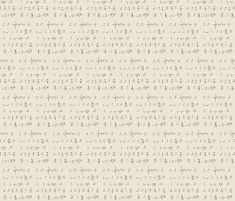 2014-Math fabric by believemagic on Spoonflower - custom fabric