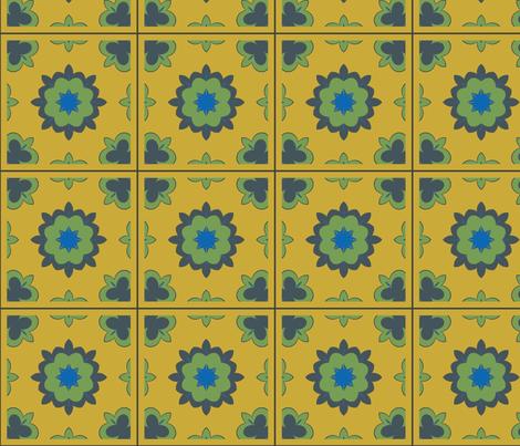 CJC Quilt Medieval Floral fabric by carla_joy on Spoonflower - custom fabric