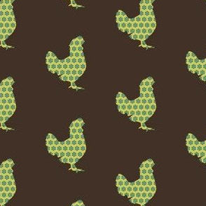 Patterned Rooster