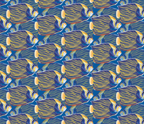 CoralReef fabric by daylily_design_studio on Spoonflower - custom fabric