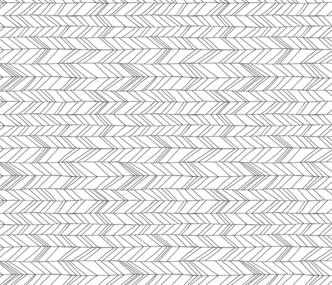 Featherland White Rotated fabric by leanne on Spoonflower - custom fabric
