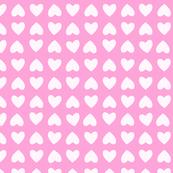 mini hearts (pink)