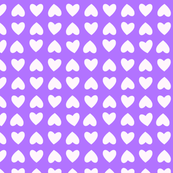 mini hearts (purple)