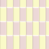 3D Pink and White Blocks