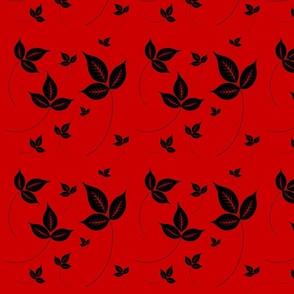 leavesblackred