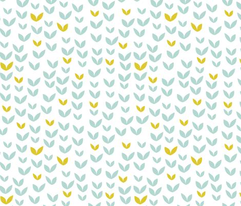 leafs fabric by brokkoletti on Spoonflower - custom fabric