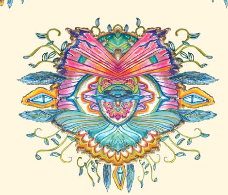 soulpainting_edit2 fabric by hannahsuzanna on Spoonflower - custom fabric
