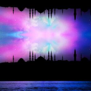 Istanbul night time border