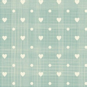 Dotty Hearts, dusty blues collection