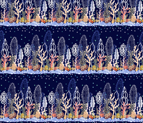 Seaweed Forest fabric by graceful on Spoonflower - custom fabric