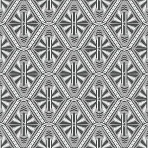 Art Deco Diamond (Gray)