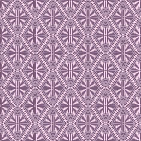 Art Deco Diamonds (Purple) fabric by robyriker on Spoonflower - custom fabric