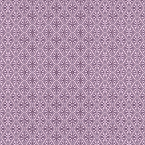 Art Deco Diamonds (Purple)