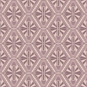 Art Deco Diamonds (Mauve)