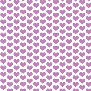 Hearts Lilac