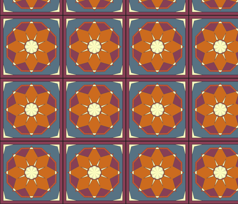 CJC Quilt Desert Star fabric by carla_joy on Spoonflower - custom fabric