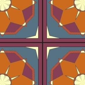 CJC Quilt Desert Star