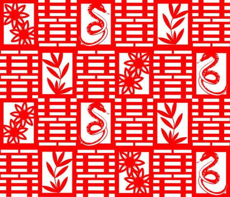 Rrrrrrsnake_in_the_garden_chinese_paper_cutting_shop_preview