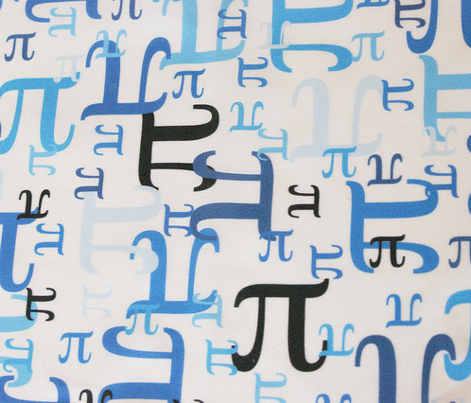 Pieces of Pi (Blue)