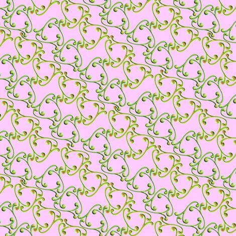 curliques 2014 lilac green gold
