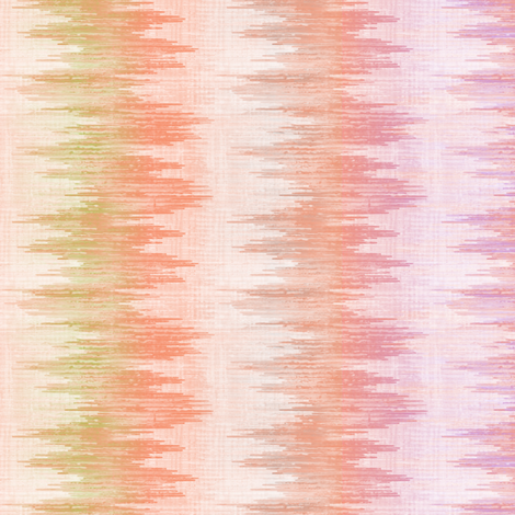 Dawnlight Ikat Railroaded fabric by glimmericks on Spoonflower - custom fabric